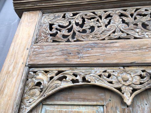 "alte Tür ""Sari"" aus Teakholz"
