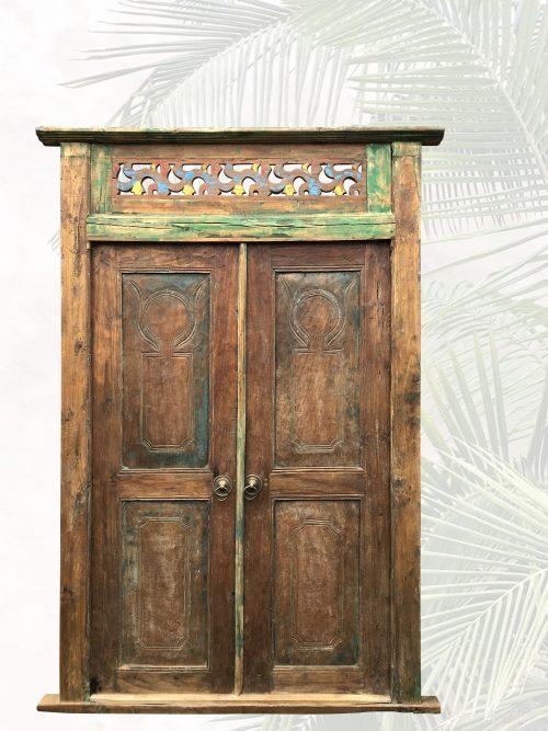 """Gesamtansicht der antiken Tür """"Adinda"""""""