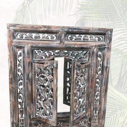 Gesamtansicht Spiegelfenster 80x90 cm