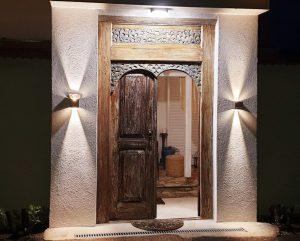 antike Tür bei unserem Kunden
