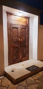antike Tür bei unserem Kunden im Saarland
