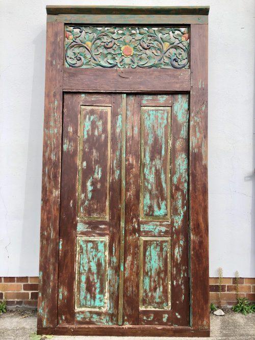 """alte Tür """"Budak"""""""